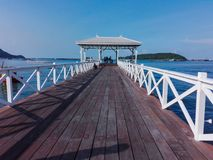 Белый мост Стоковая Фотография RF
