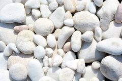 Белый мраморный овал камней, красивая предпосылка для спа Изображение фото стоковое изображение