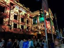 Белый свет Мельбурн стоковые фото