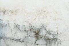 Белый трескать стен стоковая фотография rf