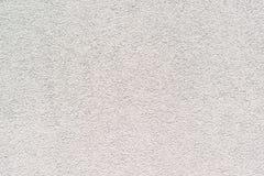 Белый цемент или конкретная предпосылка стены безшовная текстура Стоковые Изображения