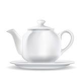 Белый чайник бесплатная иллюстрация