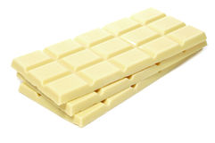 Белый шоколад Стоковые Изображения