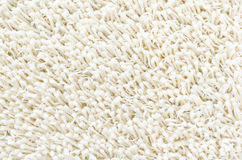 Белый shaggy ковер Стоковые Фотографии RF