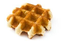 Бельгийские изолированные Waffles Стоковое Изображение