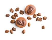 Бельгийские пралине с вкусом кофе Стоковые Фотографии RF