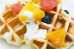 Бельгийские waffles Стоковое Изображение RF
