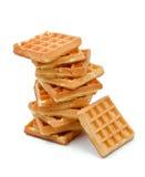 Бельгийский Waffle стоковая фотография rf