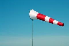 Бел-красный windsock стоковое фото