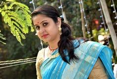 Бенгальская женщина стоковая фотография