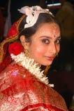 бенгальские ритуалы Индии wedding стоковое изображение