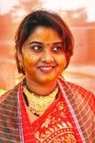 бенгальские ритуалы Индии wedding Стоковая Фотография RF