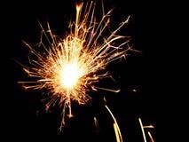 Бенгальский огонь - фото запаса рождества Стоковое фото RF