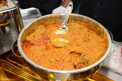 Бенгальская еда стоковая фотография rf