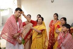 Бенгальская свадьба стоковая фотография