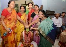 Бенгальская свадьба стоковые фотографии rf