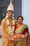 Бенгальская свадьба стоковые фото