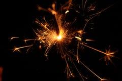 Бенгальский огонь 1 быстрого движения Стоковое фото RF