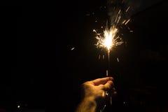 Бенгальский огонь партии стоковое фото rf