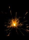 Бенгальский огонь Стоковые Фото