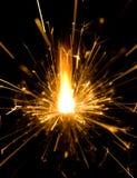 Бенгальский огонь Стоковая Фотография