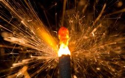 Бенгальский огонь Стоковое фото RF
