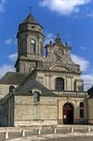 Бенедиктинская церковь аббатства, Свят-Florent-le-Vieil Стоковое Фото