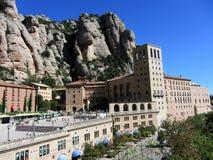 Бенедиктинский монастырь Santa Maria de Монтсеррата, Испании Стоковое Изображение RF