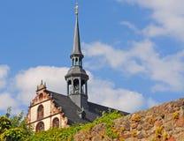 Бенедиктинский nunnery в Фульде, Германии стоковые фото