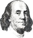 Бенжамин Франклин бесплатная иллюстрация