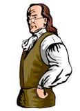 Бенжамин Франклин иллюстрация вектора