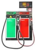 Бензиновая колонка Стоковое Изображение RF