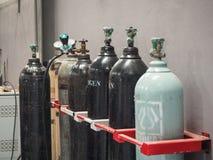 Бензобак кислорода для пользы индустрии стоковая фотография rf
