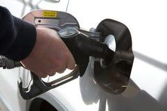 бензозаправочная колонка газа завалки Стоковое Фото