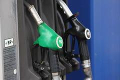 бензозаправочная колонка Стоковое фото RF