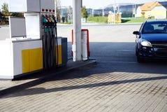 бензозаправочная колонка Стоковые Фото