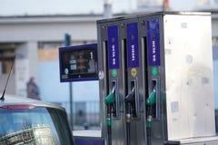 Бензозаправочная колонка OCTA Стоковые Фото