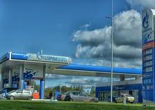 Бензозаправочная колонка Газпром Neft Стоковое Изображение