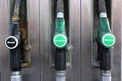 Бензозаправочная колонка Стоковые Изображения RF