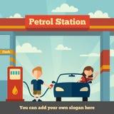 Бензозаправочная колонка Стоковая Фотография RF