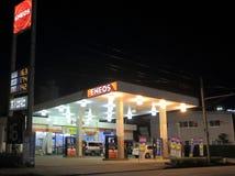 Бензозаправочная колонка ENEOS Стоковые Фото