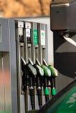 бензоколонка Стоковая Фотография RF