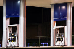 бензоколонка Стоковые Фотографии RF