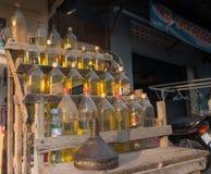 Бензоколонка газа Стоковые Изображения RF