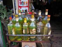 Бензоколонка, Камбоджа стоковые фото