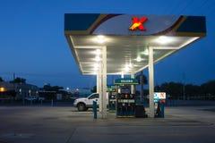 бензоколонка питания автомобиля ваша Стоковая Фотография