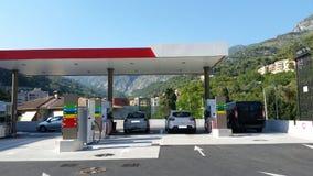 бензоколонка питания автомобиля ваша Стоковые Фото