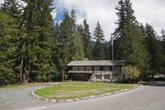 Бензоколонка Mt Ranier историческая Стоковое Изображение
