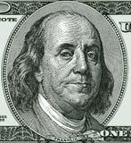 Бенджамин Франклин 100 БИЛЛОВ стоковое фото