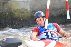 Бен Hayward - чемпионат мира слалома воды Стоковая Фотография RF